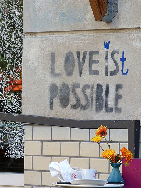 """love is possible"""