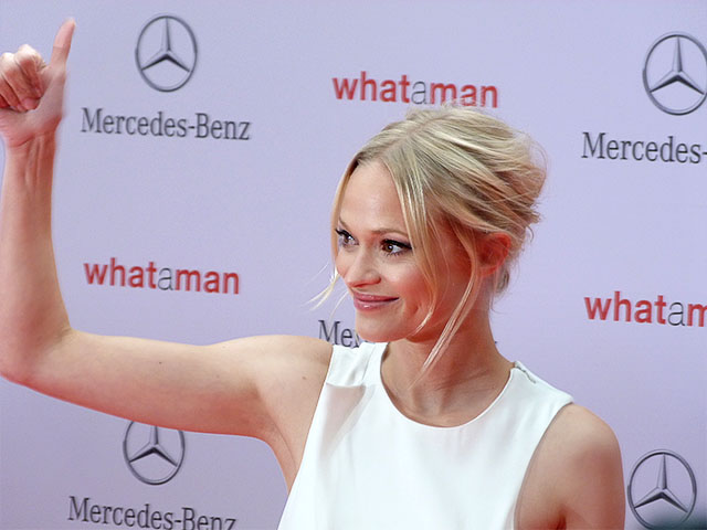"Mavie Hörbiger - Deutschlandpremiere ""What A Man"" in Berlin"