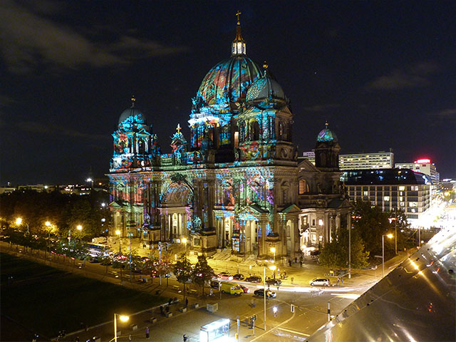 Berliner Dom - Festival of Lights 2011 Berlin