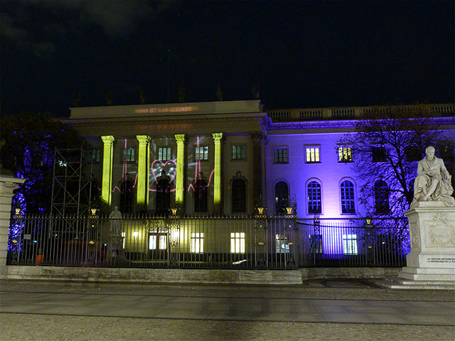 Humboldt Universität - Festival of Lights 2011