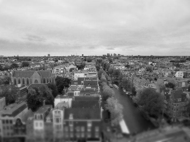 Amsterdam - Ausblick von der Westerkerk