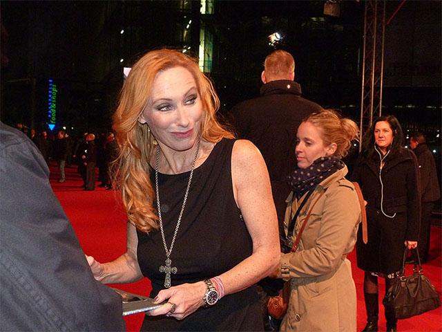 "Andrea Sawatzki - Premiere ""Der Gestiefelte Kater"" in Berlin"