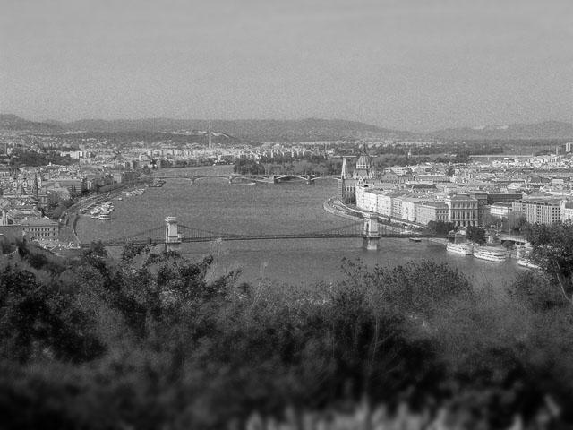Budapest - Ausblick vom Gellértberg