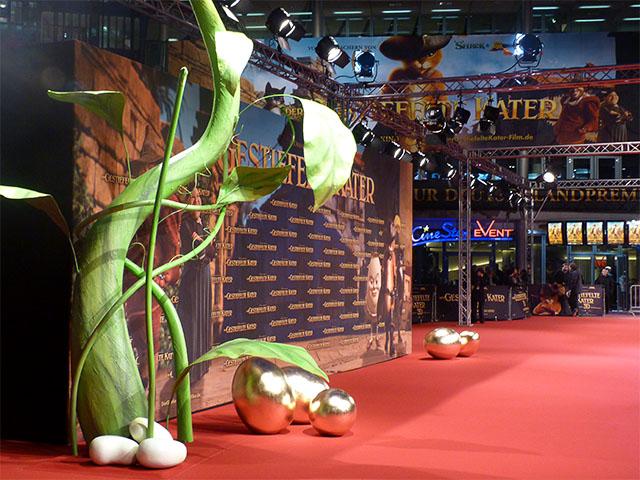 """""""Der Gestiefelte Kater"""" - Roter Teppich im Sony-Center"""