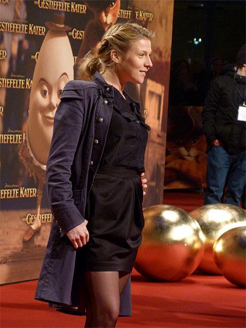 """Franziska Weisz - Deutschlandpremiere """"Der Gestiefelte Kater"""""""