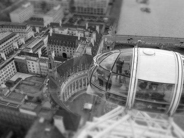 London - Ausblick vom London Eye