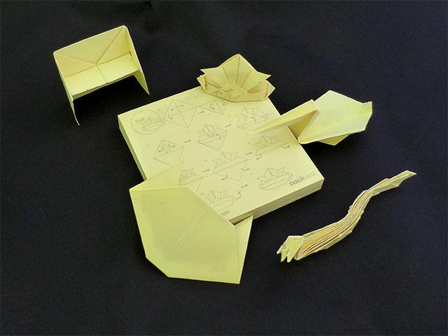 Origami Post-it