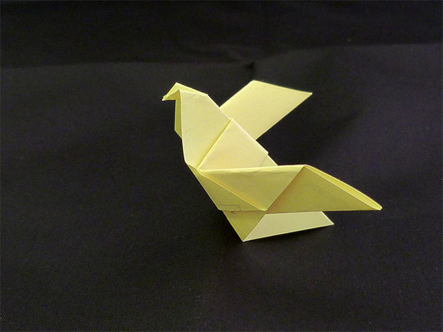Origami Taube - Post-it
