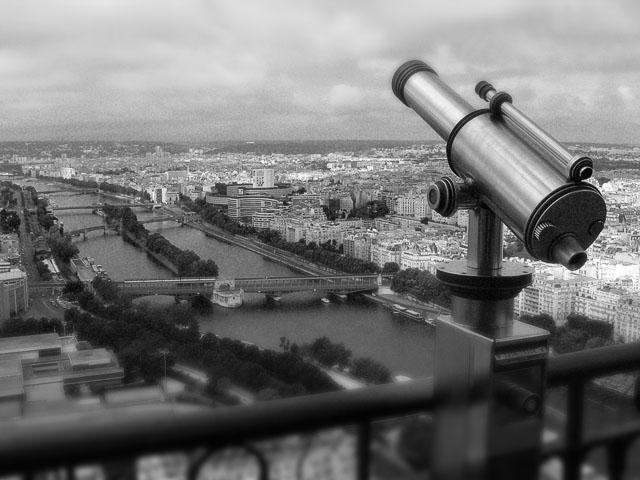 Paris - Ausblick vom Eiffelturm