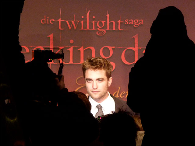 "Robert Pattinson - ""Breaking Dawn""-Premiere auf dem Potsdamer Platz"
