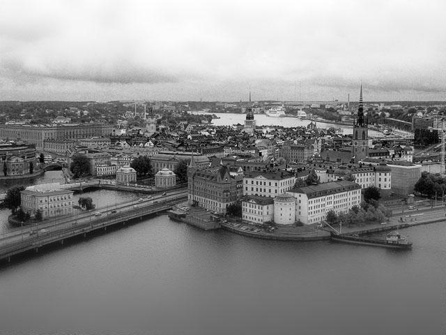 Stockholm - Ausblick vom Stadshuset