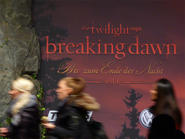 """Twilight - Breaking Dawn"" - Roter Teppich in Berlin"