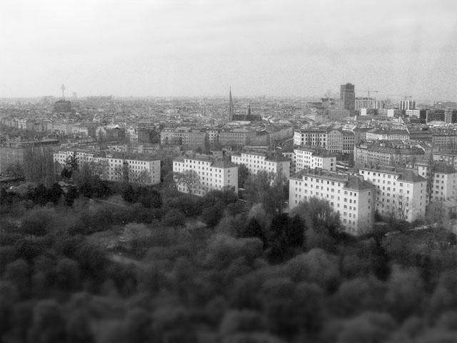 Wien - Ausblick vom Wiener Riesenrad im Prater