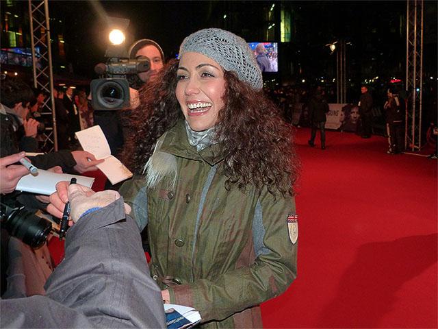 """Anastasia Zampounidis - """"Verblendung""""-Filmpremiere in Berlin"""