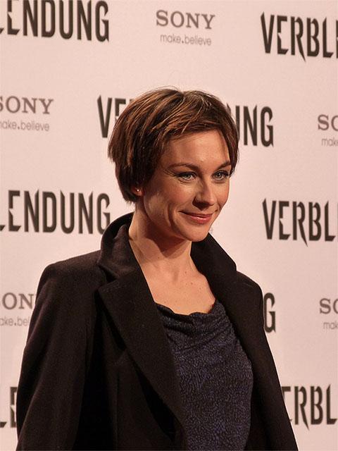 """Christiane Paul - """"Verblendung""""-Premiere in Berlin"""