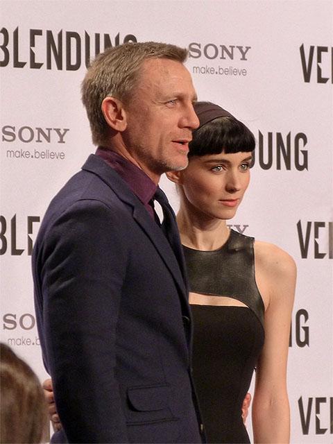 "Daniel Craig & Rooney Mara - ""Verblendung""-Filmpremiere Berlin"