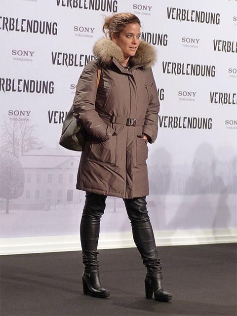 "Muriel Baumeister - Filmpremiere ""Verblendung"" Berlin"
