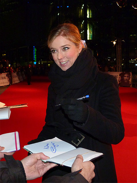 """Nina Eichinger - Premiere des Films """"Verblendung"""" im Sony Center"""