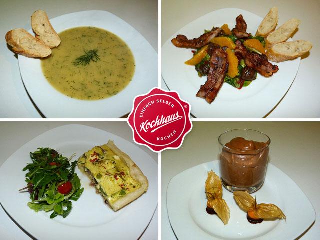 Kochhaus-Gerichte
