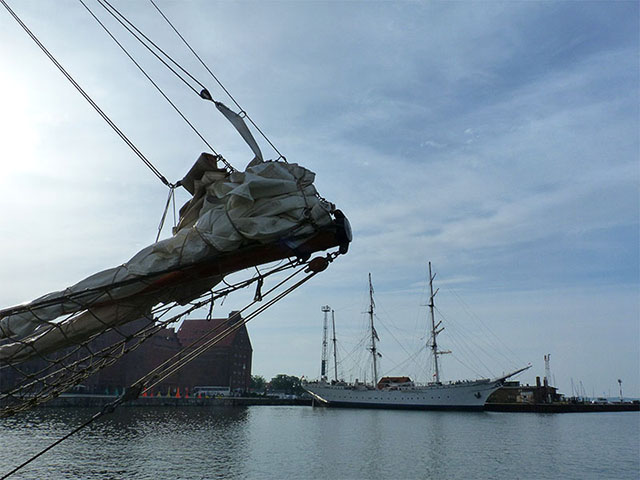 """Gorch Fock"" in Stralsund"