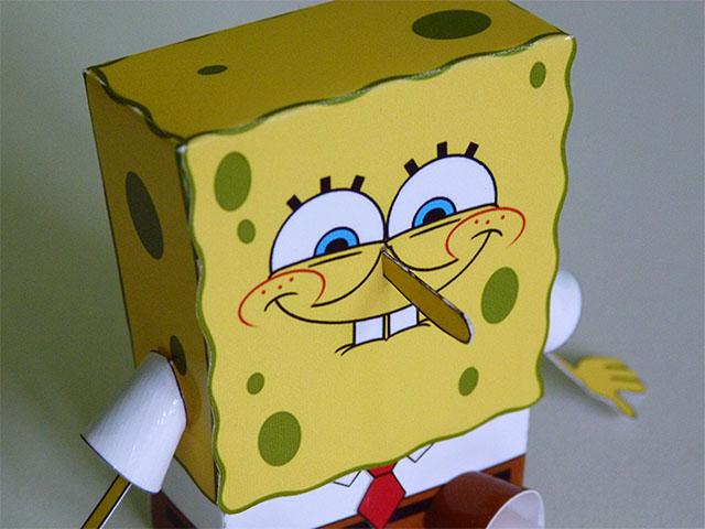 Spongebob - Papertoy