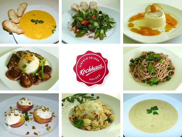 8 neue Kochhaus-Gerichte