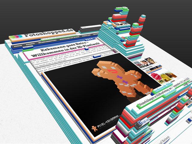Tilt 3D - Firefox-Addon