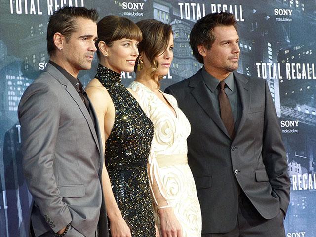 """Die Stars von """"Total Recall"""" bei der Premiere in Berlin"""