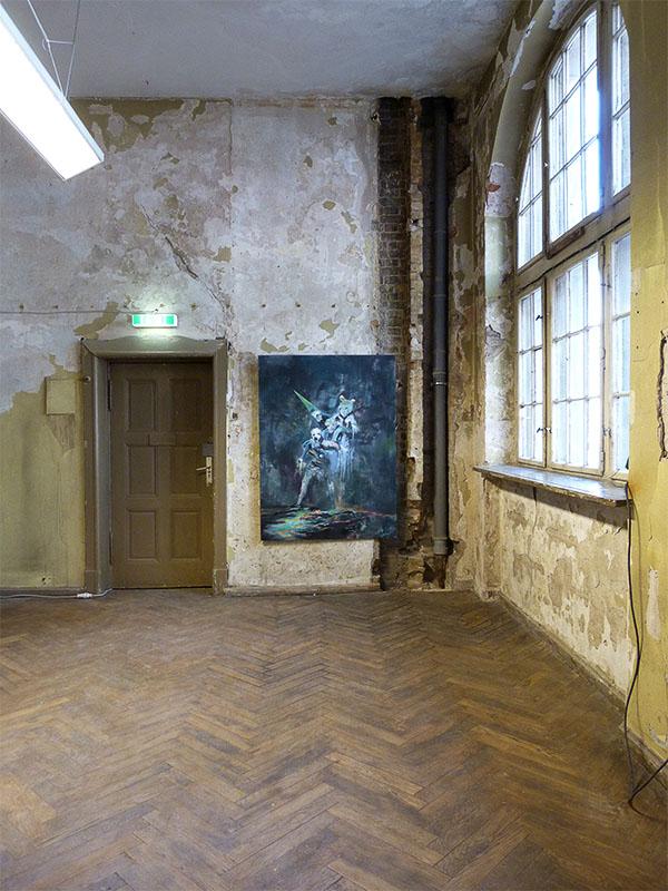 Gemälderaum NO OK im Stadtbad Oderberger Straße
