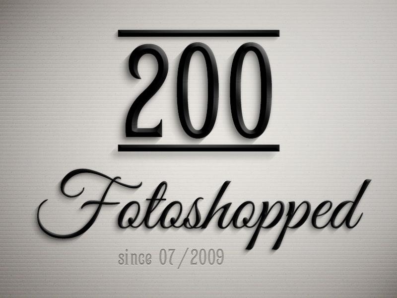 der 200. Blogartikel auf fotoshopped.de