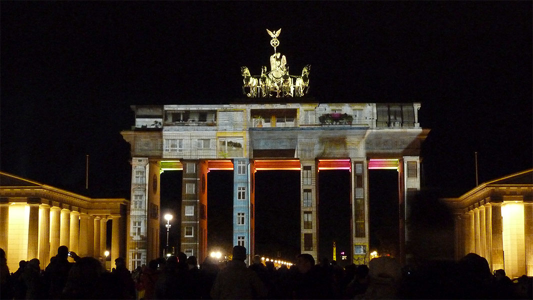 Brandenburger Tor - Festival of Lights 2012