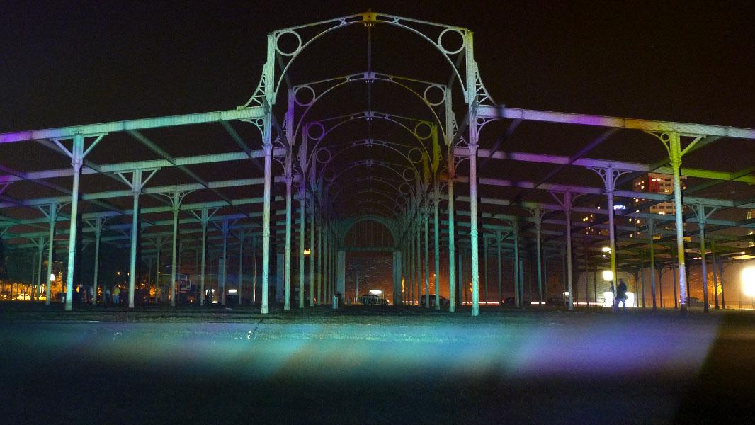 Ehemalige Viehauktionshalle - Festival of Lights 2012