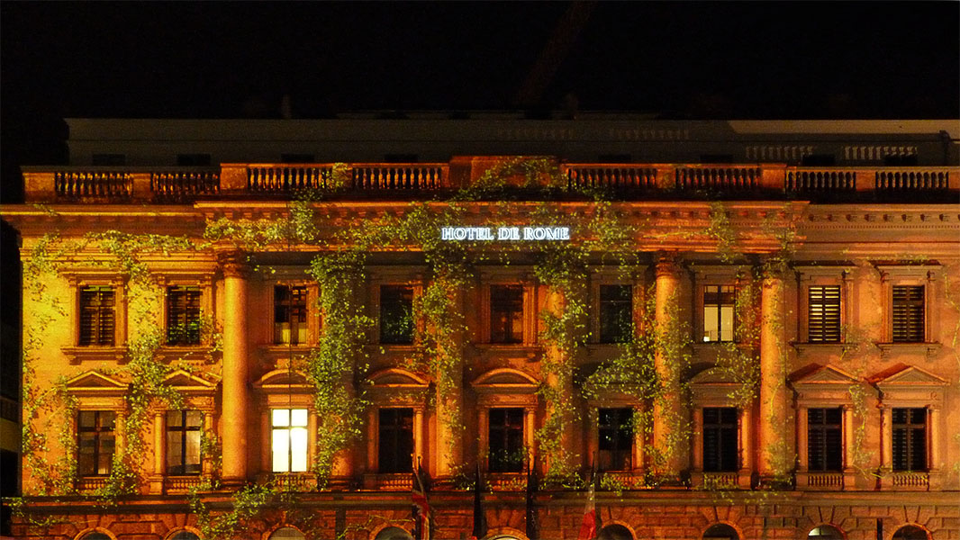 Hotel de Rome - Festival of Lights 2012