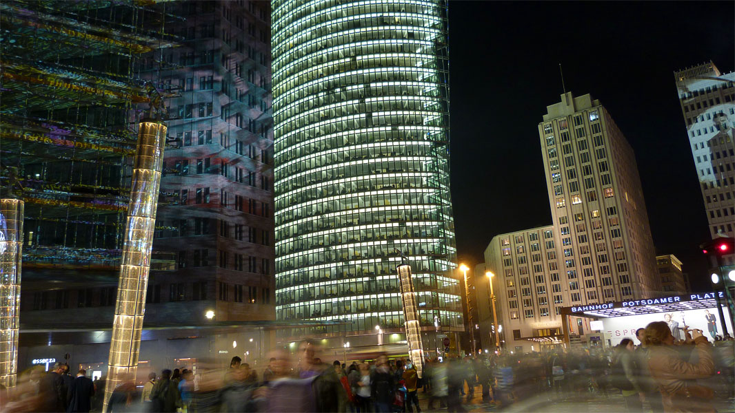 Potsdamer Platz - Festival of Lights 2012