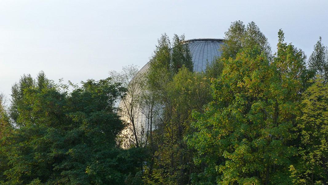 Kuppel des Planetariums in Prenzlberg