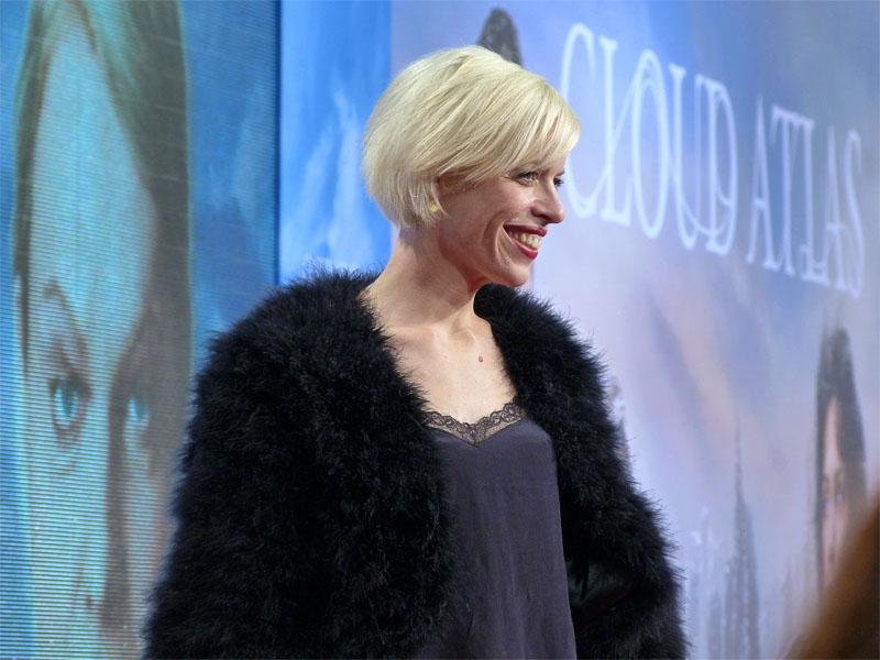 """Katja Eichinger bei der """"Cloud Atlas""""-Premiere auf dem Potsdamer Platz in Berlin"""