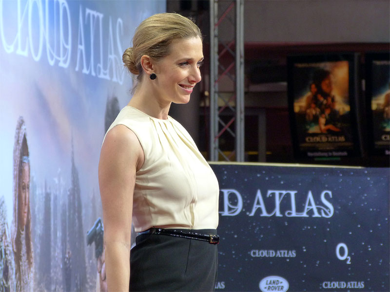 "Kristin Meyer auf der ""Cloud Atlas""-Premiere im Sony Center"