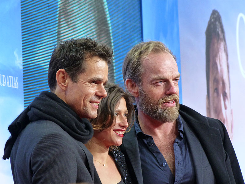 "Tom Tykwer & Hugo Weaving - ""Cloud Atlas""-Europapremiere in Berlin"