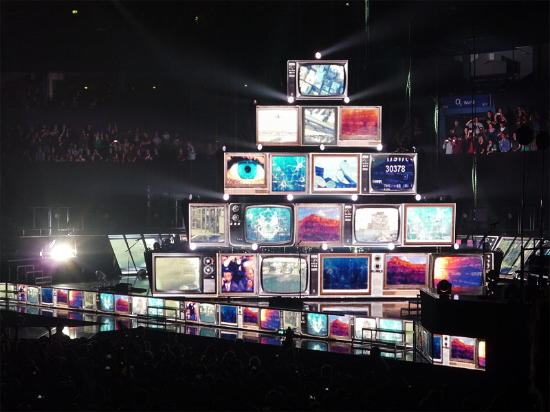 Muse beim Konzert in Hamburg