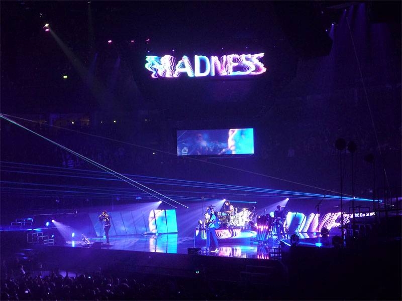 Muse-Konzert in Hamburg - Madness