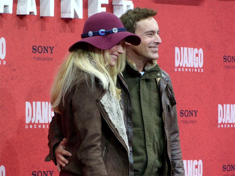 "Anika Bormann & Gedeon Burkhard - ""Django Unchained""-Premiere Berlin"