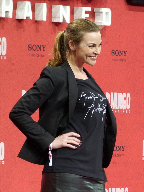 """Annika Kipp - """"Django Unchained""""-Filmpremiere in Berlin"""