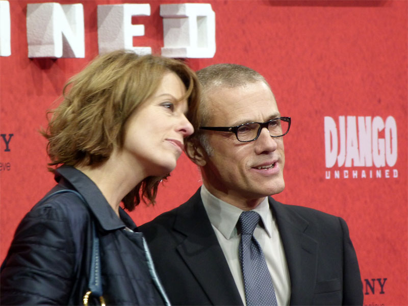 "Christoph Waltz & Judith Holste - ""Django Unchained""-Premiere in Berlin"