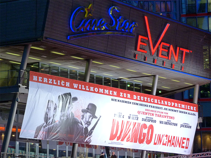 """Django Unchained""-Deutschlandpremiere im Sony Center"