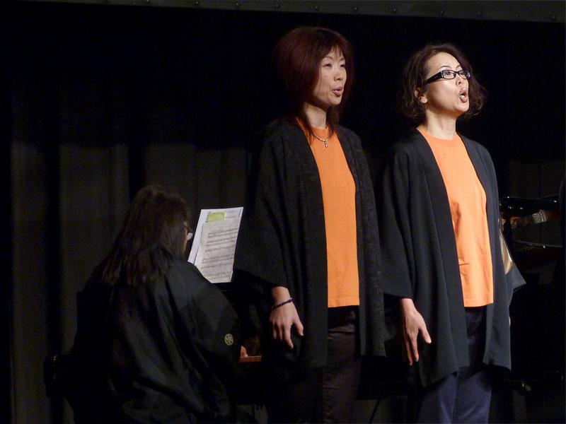 Japanische Sängerinnen beim Berliner Japan Festival