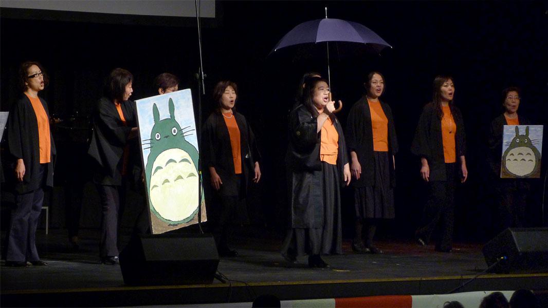 Japanischer Gesang - Totoro auf dem Japan Festival Berlin