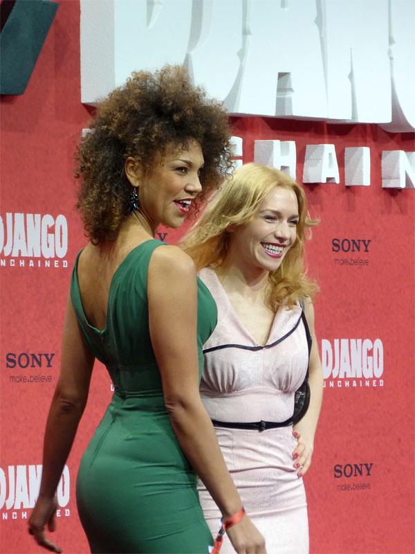 "Julia Dietze & Nathalie Nowak - ""Django Unchained""-Premiere Berlin"