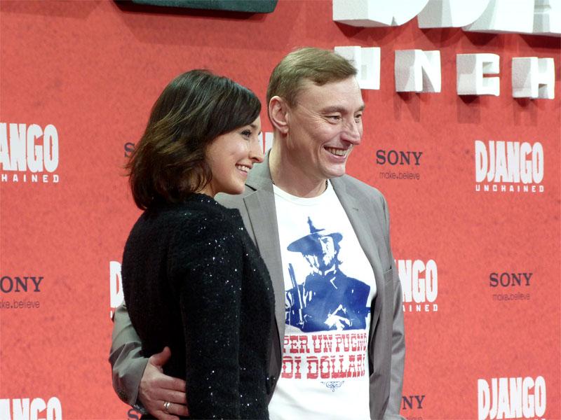 """Maike von Bremen & Werner Daehn - """"Django Unchained"""" Premiere Berlin"""