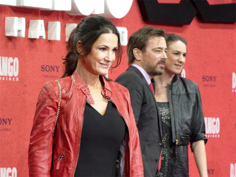 """Mariella Ahrens bei der Filmpremiere von """"Django Unchained"""" im Sony Center"""