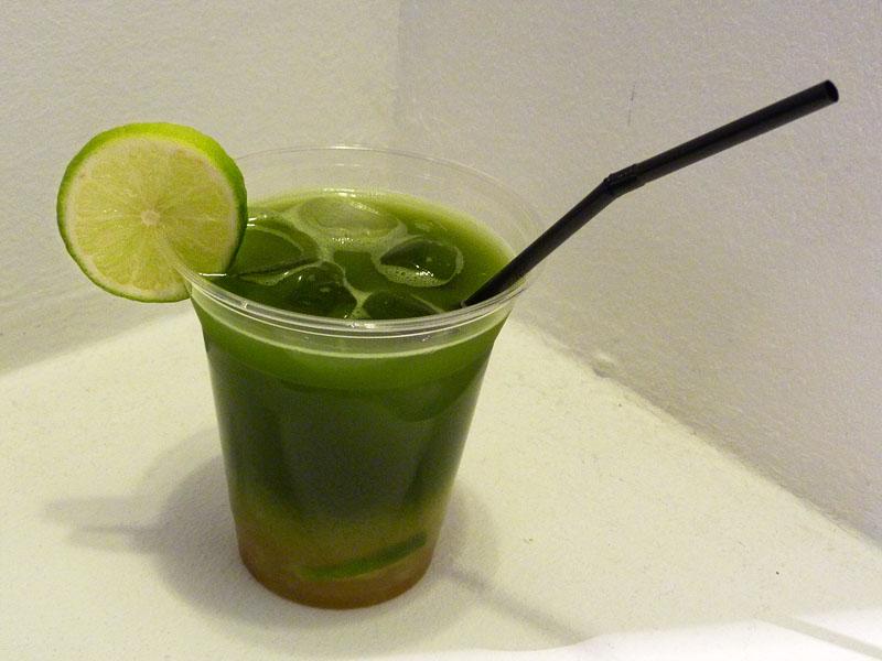 Matcha-Caipirinha - Grüner Tee auf dem Japan Festival Berlin